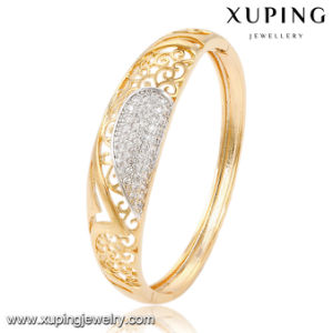 51484 Fashion Elegant CZ Multicolor Imitation Alloy Copper Jewelry Bangle for Women pictures & photos
