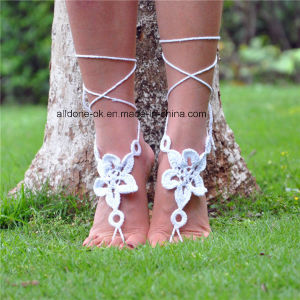 Delicate Ankle Bracelet Crochet Barefoot Sandals Foot Jewelry pictures & photos