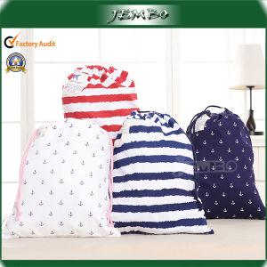Best Quality Fashion Travel Storage Cotton Drawstring Bag pictures & photos