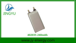 240mAh Rechargeable Li-ion Battery for Digital Products