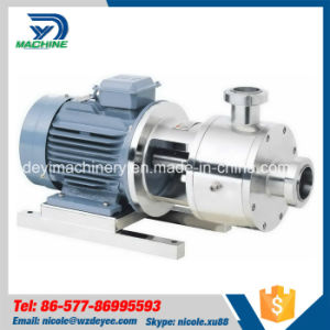Sanitary Stainless Steel Pharmaceutical High Shear Emulsifying Pump (DY-P030) pictures & photos