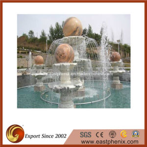 Natural Marble/Granite Stone Carving Water Music/Ball Statue Fountain for Garden/Wall/Outdoor pictures & photos