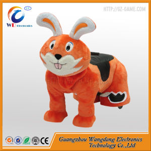 Coin Operated Kids Ride on Furry Animal Ride From China pictures & photos