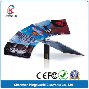 Full Color Printing Card USB Stick pictures & photos