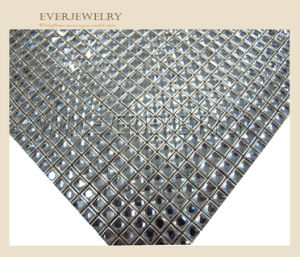 24*40 Top Quality Hot Fix Rhinestone Sheet Mesh pictures & photos