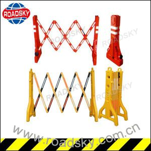 Popular Driveway Security Metal / Plastic Extendable Barrier pictures & photos