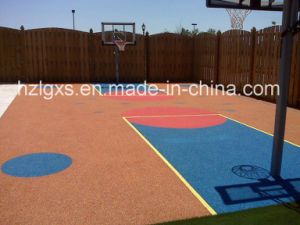 Colorful EPDM Granules for Basketball Court pictures & photos