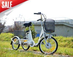 Hot Sale CE Electric Tricycle with Big Baskets for Elder pictures & photos