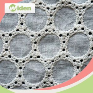 Brocade Lace Fabric Wedding Embroidered Lace Fabric pictures & photos