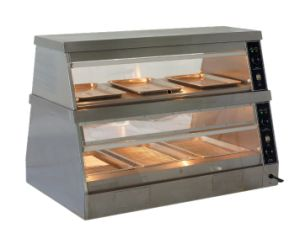 Warming Display Showcase, Hot Food Warmer Display Showcase Dbg-1500 pictures & photos