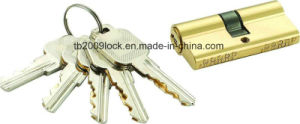 High Security Double Pins Groove Key Cylinder (C3360-251BP) pictures & photos