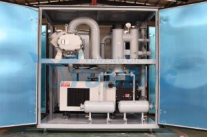 Double Stage Vacuum Pumping Machine for Transformer Plant pictures & photos