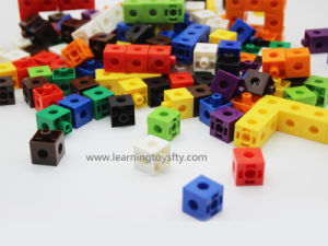 Educational Toy/Building Snap Connecting Cubes for Fine Motor Skills pictures & photos