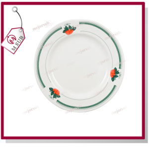 8′′rim Plate with Green Strawberry pictures & photos