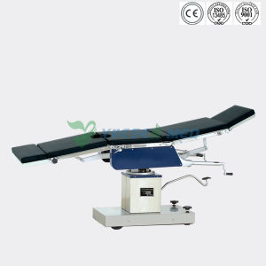 Ysot-3008A Hospital Medical Manual Hydraulic Operating Table pictures & photos