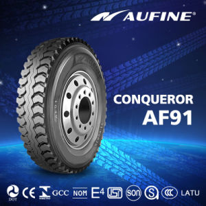 Aufine Excellent Wear Resistant Radial Truck Tyre Made in China 11r22.5 11r24.5 13r22.5 385 65r22.5 315 80r22.5 295/75r22.5 pictures & photos