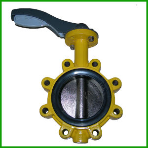 Lug Type Butterfly Valve-Rubber Lined Lug Butterfly Valve pictures & photos