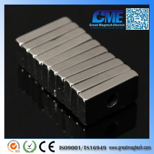 Strong N52 Rare Earth Block Countertsunk Neodymium Magnets pictures & photos