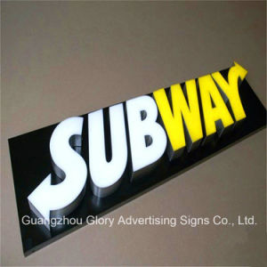 Facelit Store Front LED Resin Channel Letters 3D Advertising Letter pictures & photos