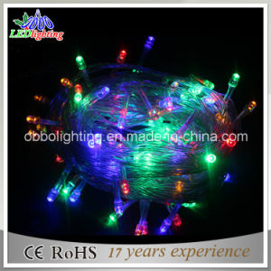 Holiday Decoration Light 230V Outdoor Use PVC LED Fairy String Light for Christmas Decoration Waterproof IP44 5mm LED String Lights pictures & photos