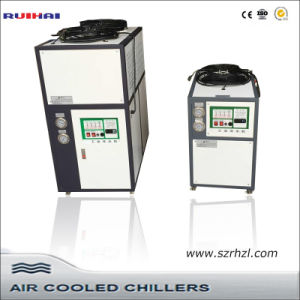 Industrial 1tons Mini Air Cooled Plastic Water Chiller pictures & photos