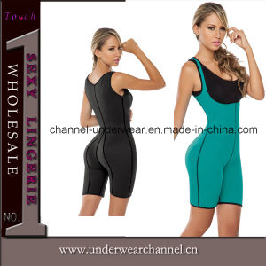 Newest Lady Ultra Sweat Bodysuits Gym Fitness Sportswear (TG8033) pictures & photos