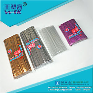 High Quality Golden/Silver Twist Cable Tie (PE/PVC) pictures & photos
