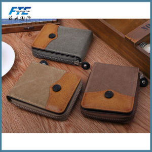 PU Certificate Quality Business Outdoor Travel Mobile Card Holder pictures & photos