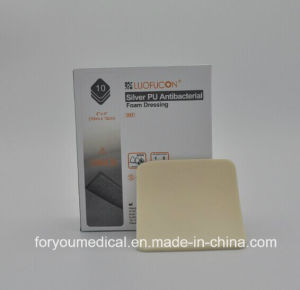2016 Medical Premium Wound Dressing with Silver Adhesive Foam Sheets pictures & photos