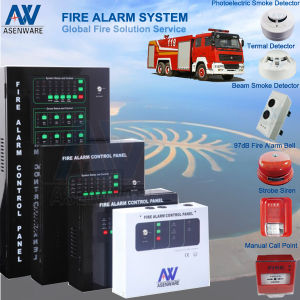 BMS-Centered Fire Alarm FM200 Linkage 1-32 Zone Conventional Fire Alarm Fire Door Control Panel System pictures & photos