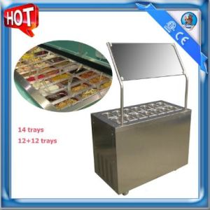 Refrigerated Frozen Yogurt Topping Machine SD-202 pictures & photos