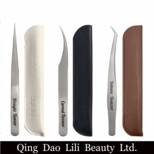 Lilibeauty Extended Lashes Tweezer Set Straight Curved Volume Pick up Precision Tip pictures & photos