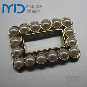 Acrylic and Rhinestone Shoe Buckle for Lady (MDP123122) pictures & photos