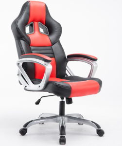 PU Leather Swivel Sports Chair /Gaming Racing Office Chair by China Online Shopping pictures & photos