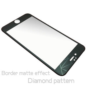 3D Diamond Tempered Glass Screen Protector for iPhone 6 pictures & photos