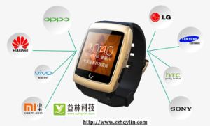 GPS Digital Bluetooth Smart Watch Phone with Dual-Core / 4GB ROM