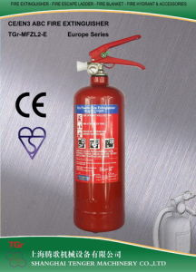 2kg ABC Dry Powder Fire Extinguisher (Blue/Yellow) -CE Approved pictures & photos