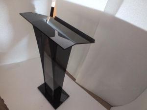 Assembled Church Acrylic Podium Lectern Pulpit Plexiglass Lucite Clear pictures & photos