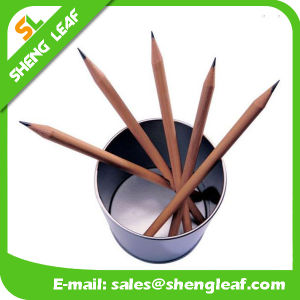 Stationery Items Wooden Custom Logo Pencil (SLF-WP006) pictures & photos