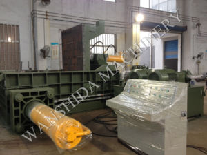 PLC Control Scrap Metal Baling Machine