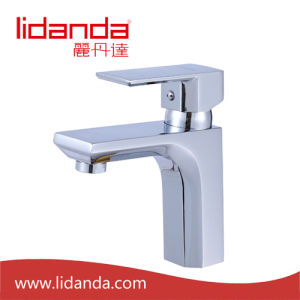 Contemporary Single Handle Lavatory Faucet with Chrome pictures & photos