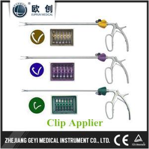 Laparoscopic XL Yellow Hemolok Clip Applier Forceps pictures & photos