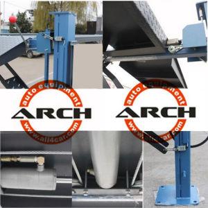 Ce Auto Hydraulic Four Post Car Hoist Parking Lift pictures & photos