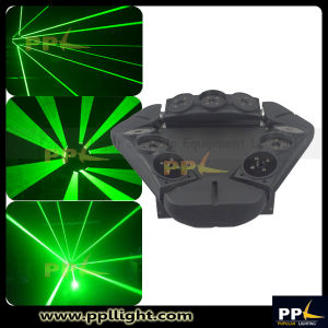 9PCS 10W RGB /Single Green Laser Spider Light pictures & photos