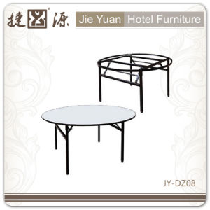 Factory Outlet Customise Party Wedding Folding PVC Table (JY-DZ008) pictures & photos