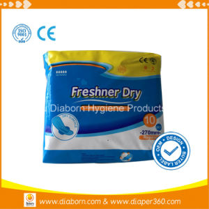 Sanitary Napkin with Negative Ion for Women in Quanzhou pictures & photos