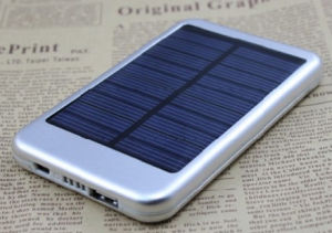Solar Mobile Power Supply Solar Energy Charger Power Bank for Cell Phone pictures & photos