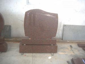 Granite Stone Monument / Tombstone with Custom Design - Tt19 pictures & photos