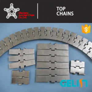 820 Single Hinge Straight Running Stainless Steel Flat Top Chain pictures & photos