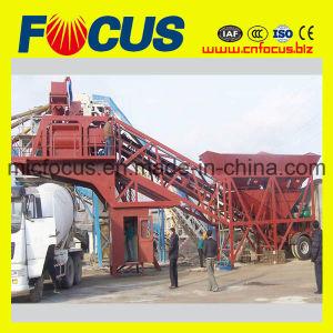 Building Equipment Yhzs75 Mobile Concrete Batching Plant, Concrete Mixing Plant pictures & photos